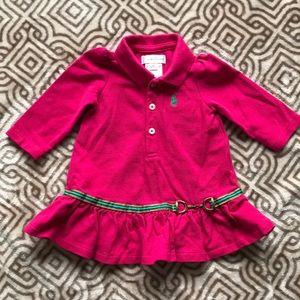Baby Girl Ralph Lauren Dress 3 month